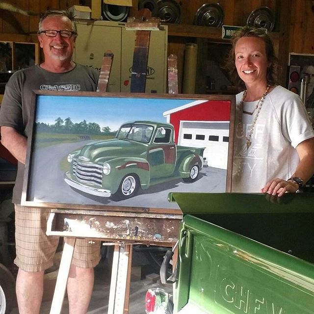 me-and-dad-with-truck-painting
